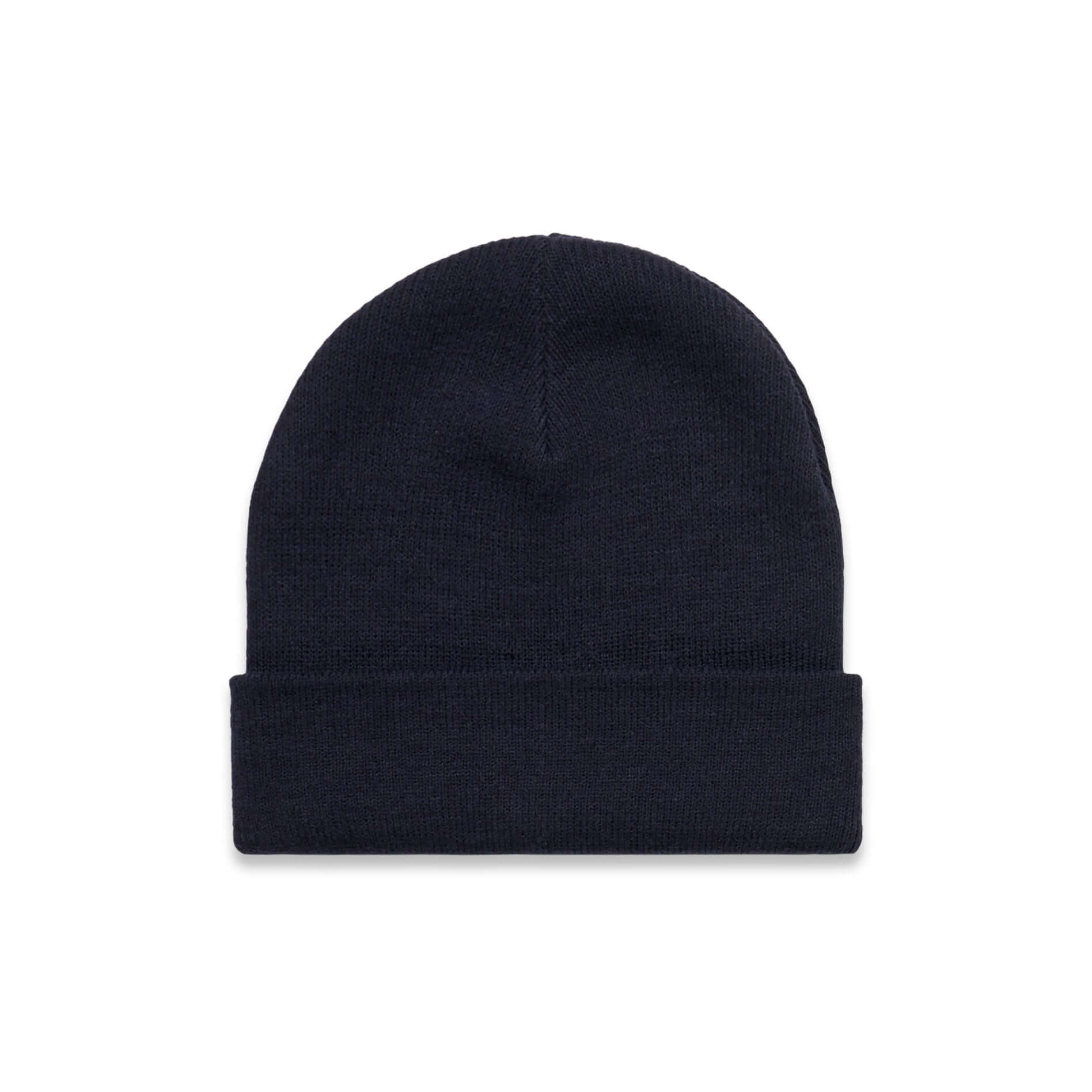 AS Colour CUFF BEANIE - Navy