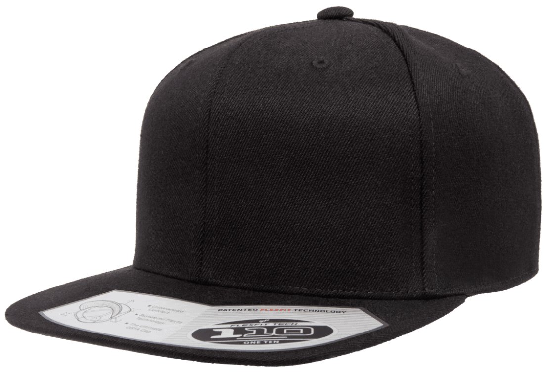 Flex Fit Tech 110 Snapback  Black