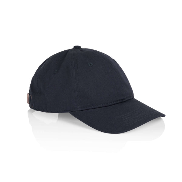 AS Colour DAVIE SIX PANEL CAP - Natural, Harbour Blue, Navy, Dark Grey and Black