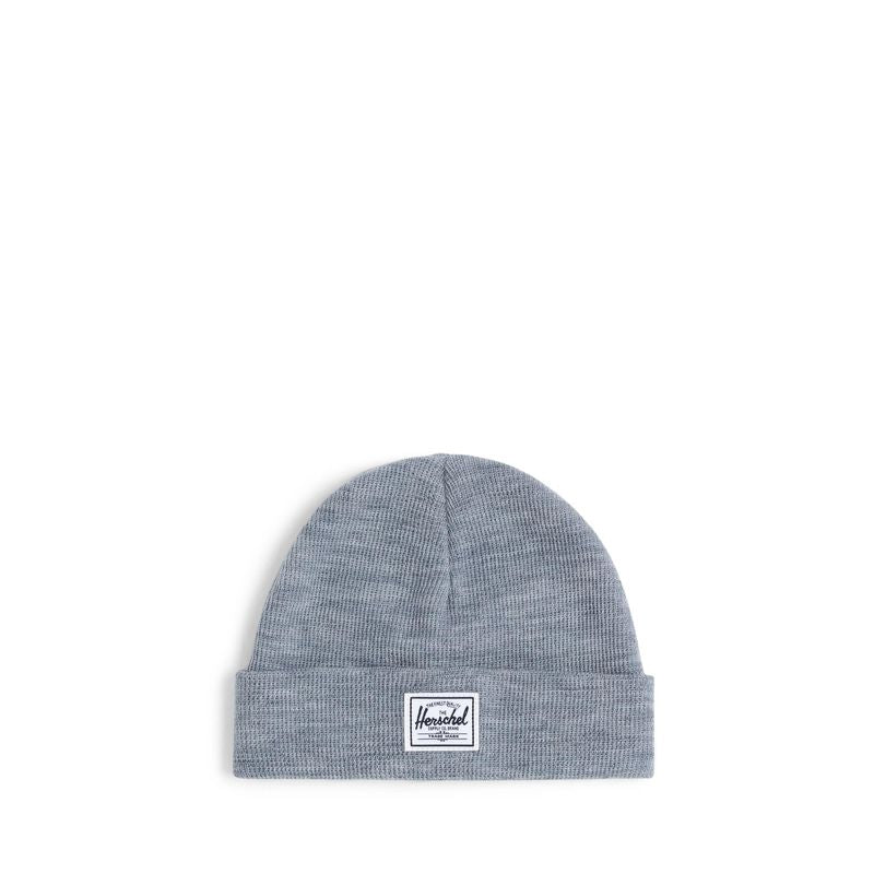 Herschel Supply Baby Beanie Heather Light Grey