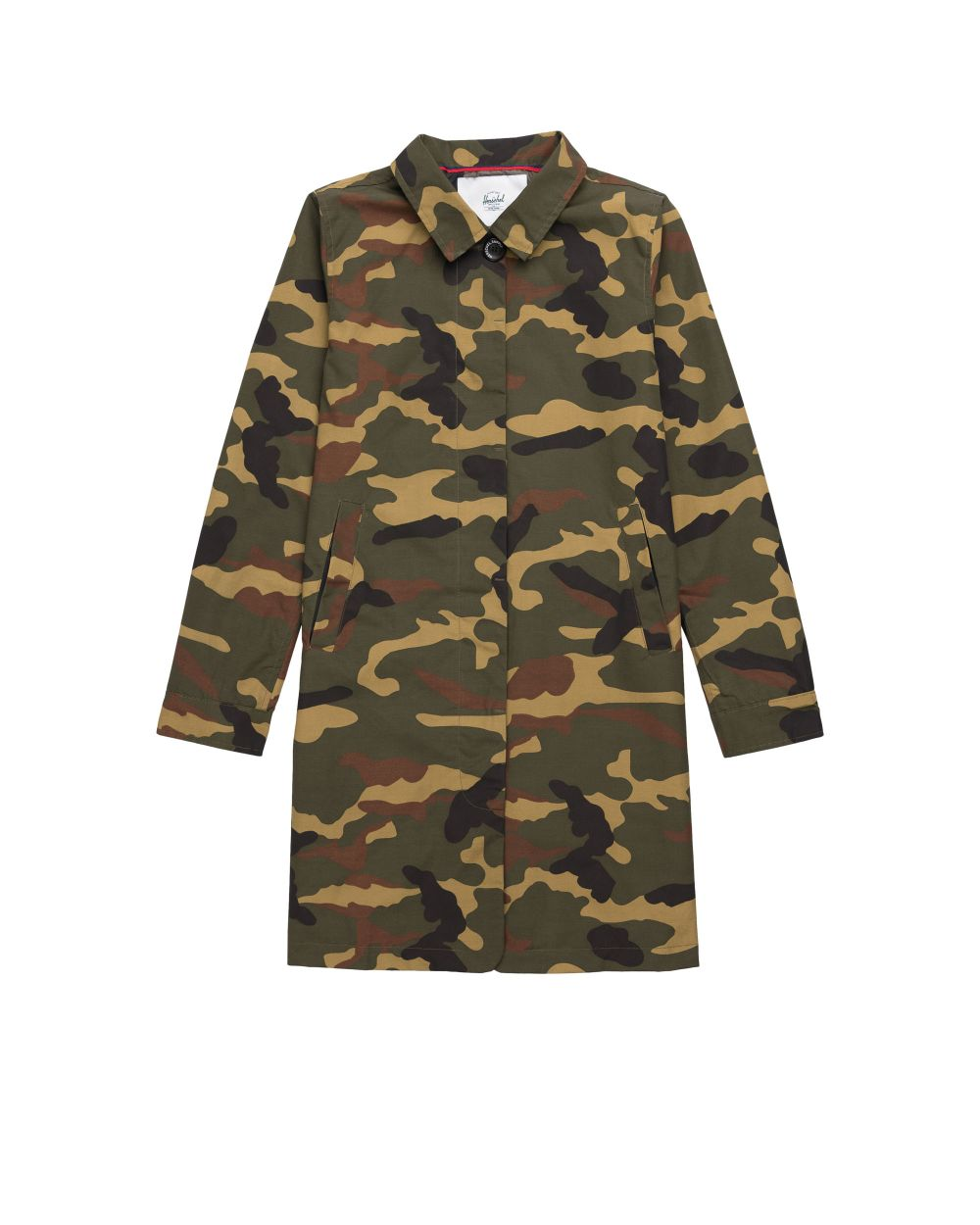 Herschel Supply Women's Mac Coat - Woodland Camo