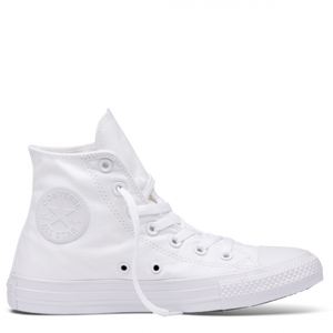 Converse Chuck Taylor All Star Canvas Hi Top White Monochrome