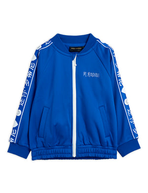 Mini Rodini Recycled Polyester Rabbit WCT Jacket Blue EXCLUSIVE