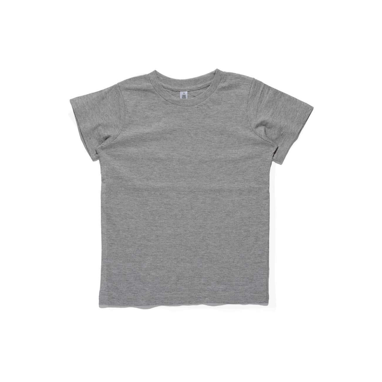 AS Colour Basic Kids Cotton Crew Neck Tee Shirt White, Navy, Coal and Grey Marl - Frankie's Story - 4