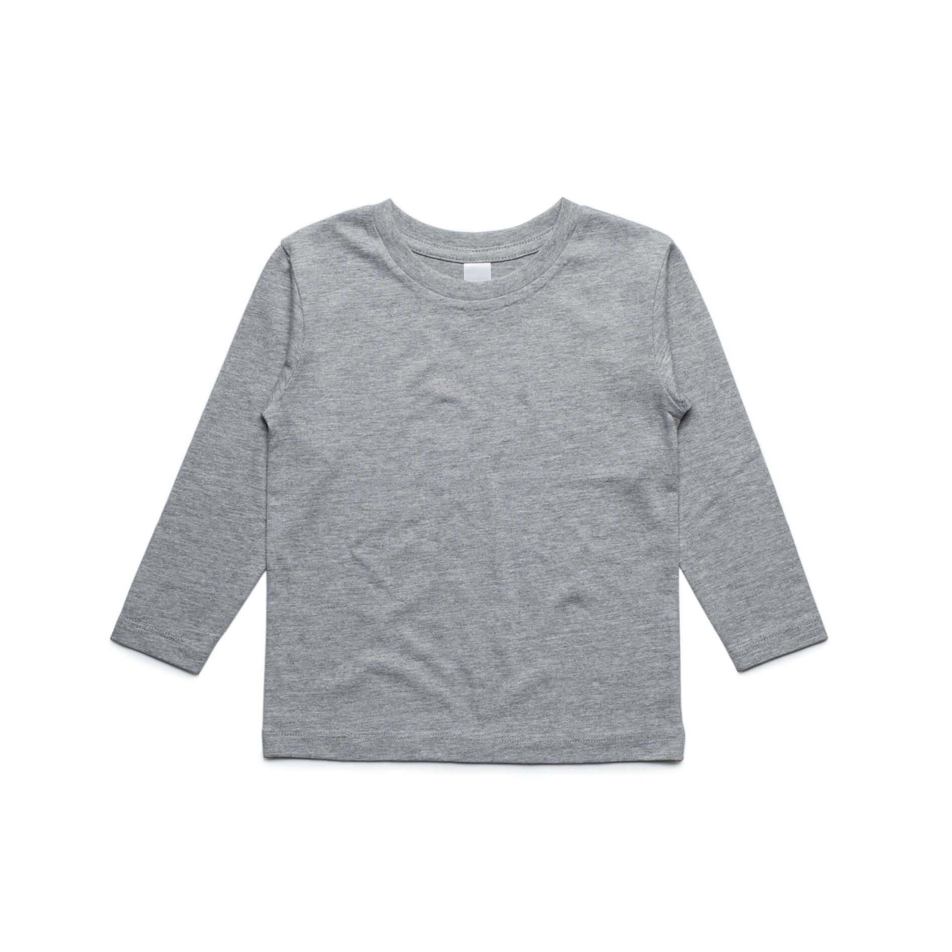 AS Colour Kids Cotton Long Sleeve Basic Tee Shirt White, Black and Grey Marl - Frankie's Story - 3