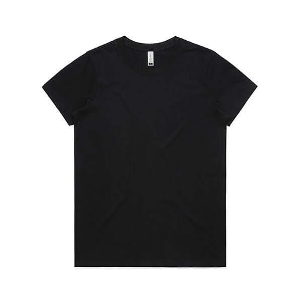 AS Colour Womens MAPLE ORGANIC TEE - Black