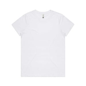 AS Colour Womens MAPLE ORGANIC TEE - White