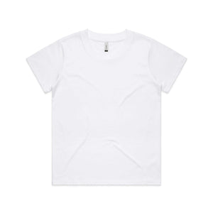 AS Colour Womens CUBE TEE - White