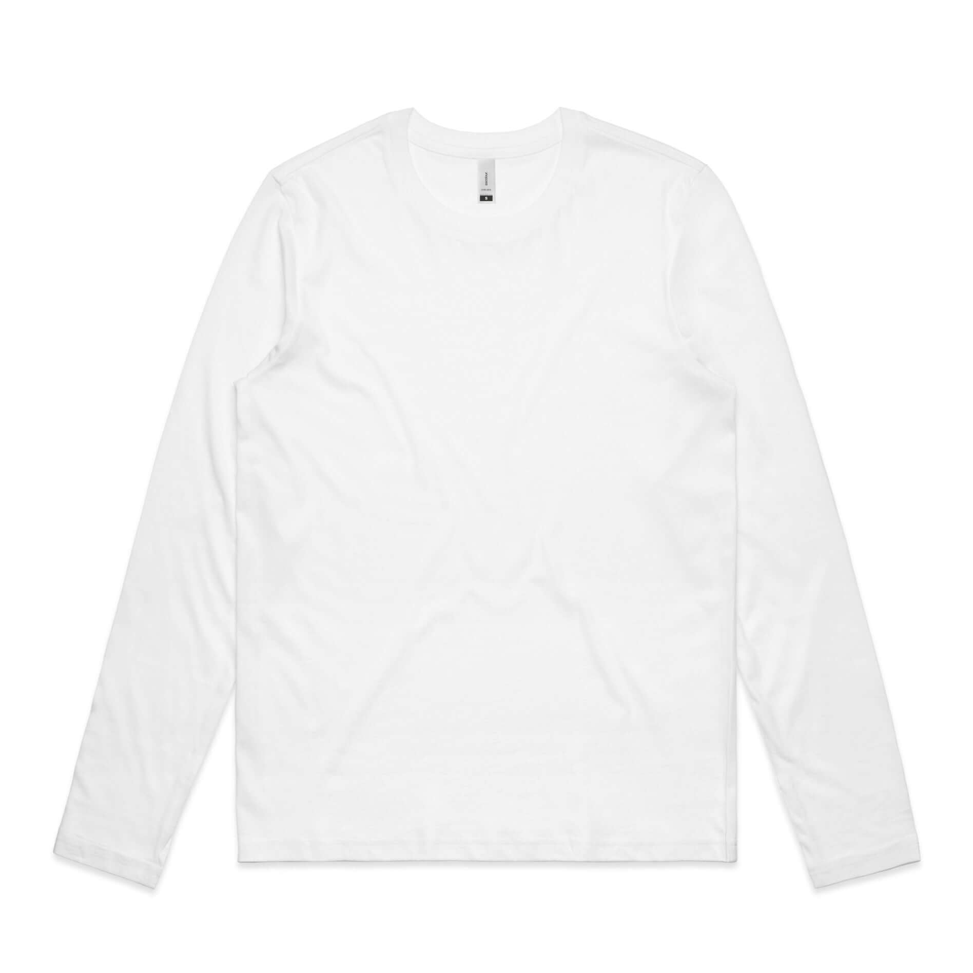 AS Colour Womens CHELSEA LONG SLEEVE TEE - White