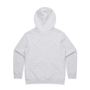 AS Colour Womens PREMIUM HOOD  - White Marle