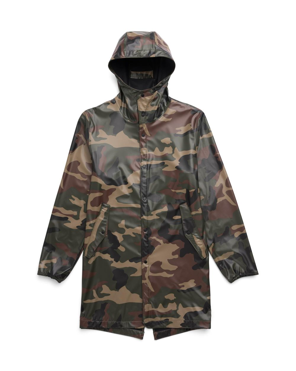 Herschel Supply Men's Rainwear Fishtail - Woodland Camo