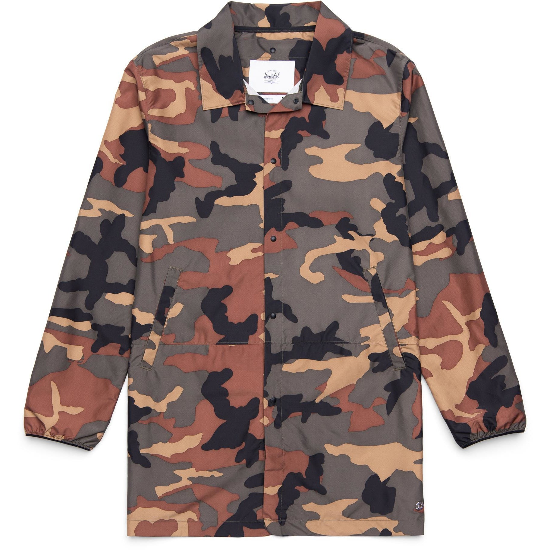 Herschel Supply Men's Voyage Long Coach - Woodland Camo