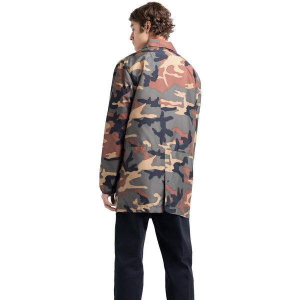 Herschel Supply Co Voyage Long Coach - Woodland Camo