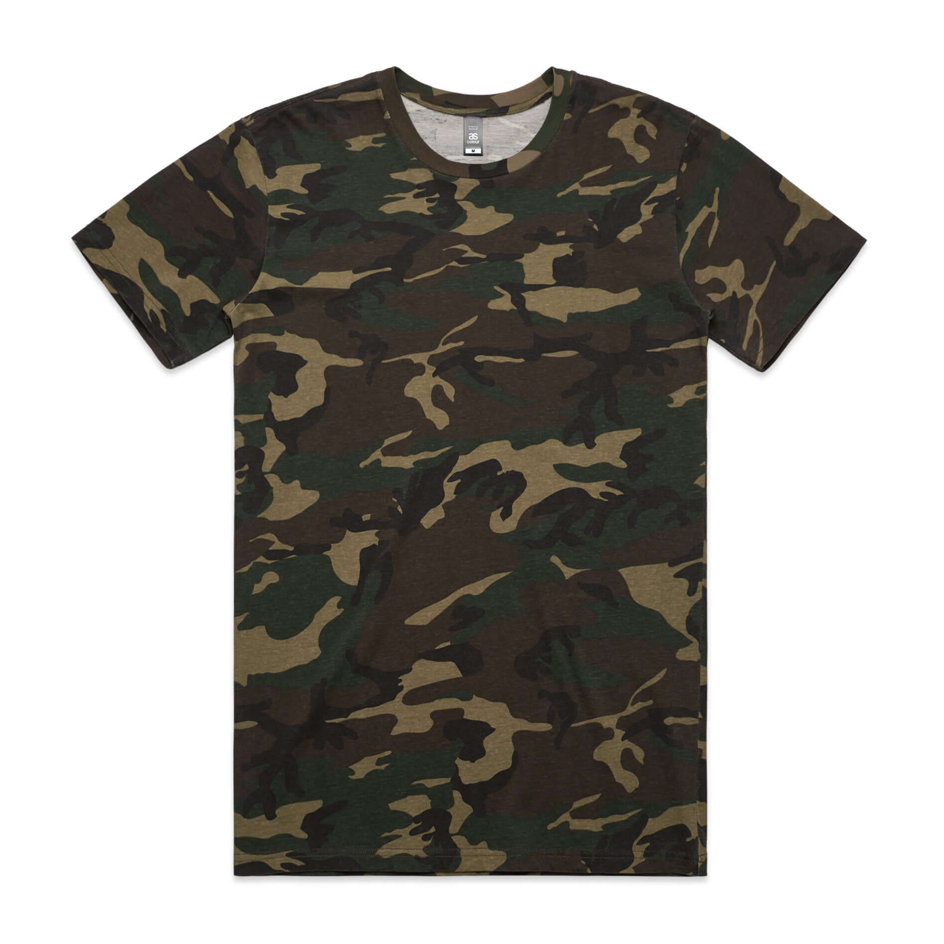 AS Colour CAMO TEE - Camo