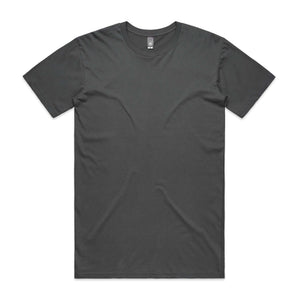 AS Colour STAPLE TEE -  Charcoal