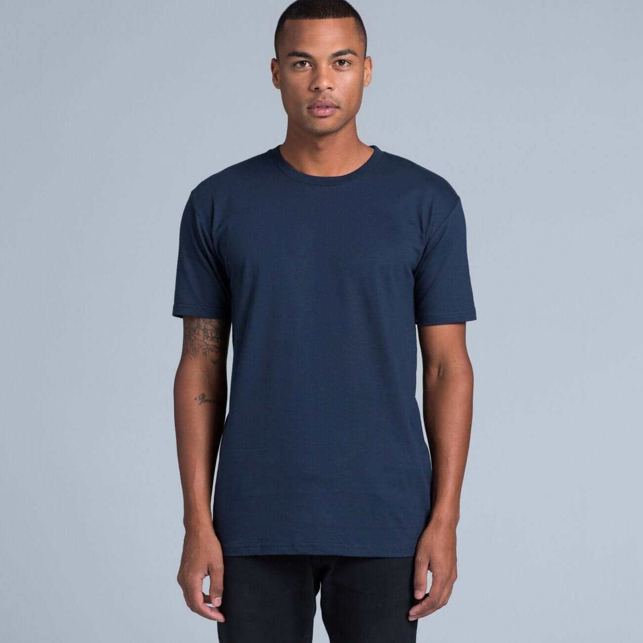 AS Colour STAPLE TEE - Black