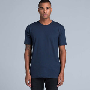 AS Colour STAPLE TEE - Navy