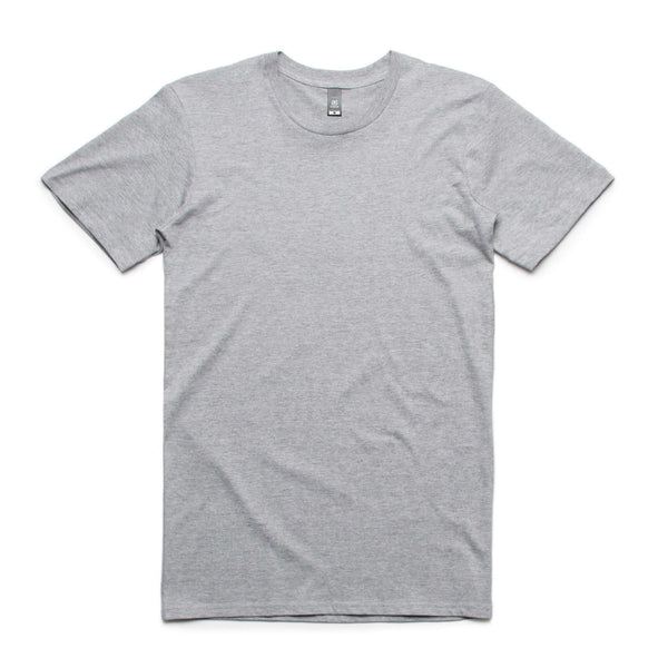 AS Colour STAPLE TEE - White, Charcoal, Army, Navy, Black, Grey Marle, Asphalt Marle, Light Grey, Natural, Sage, Coral and Pale Pink