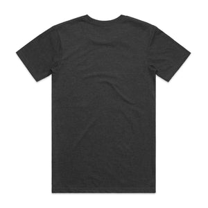 AS Colour STAPLE TEE -  Charcoal Marle