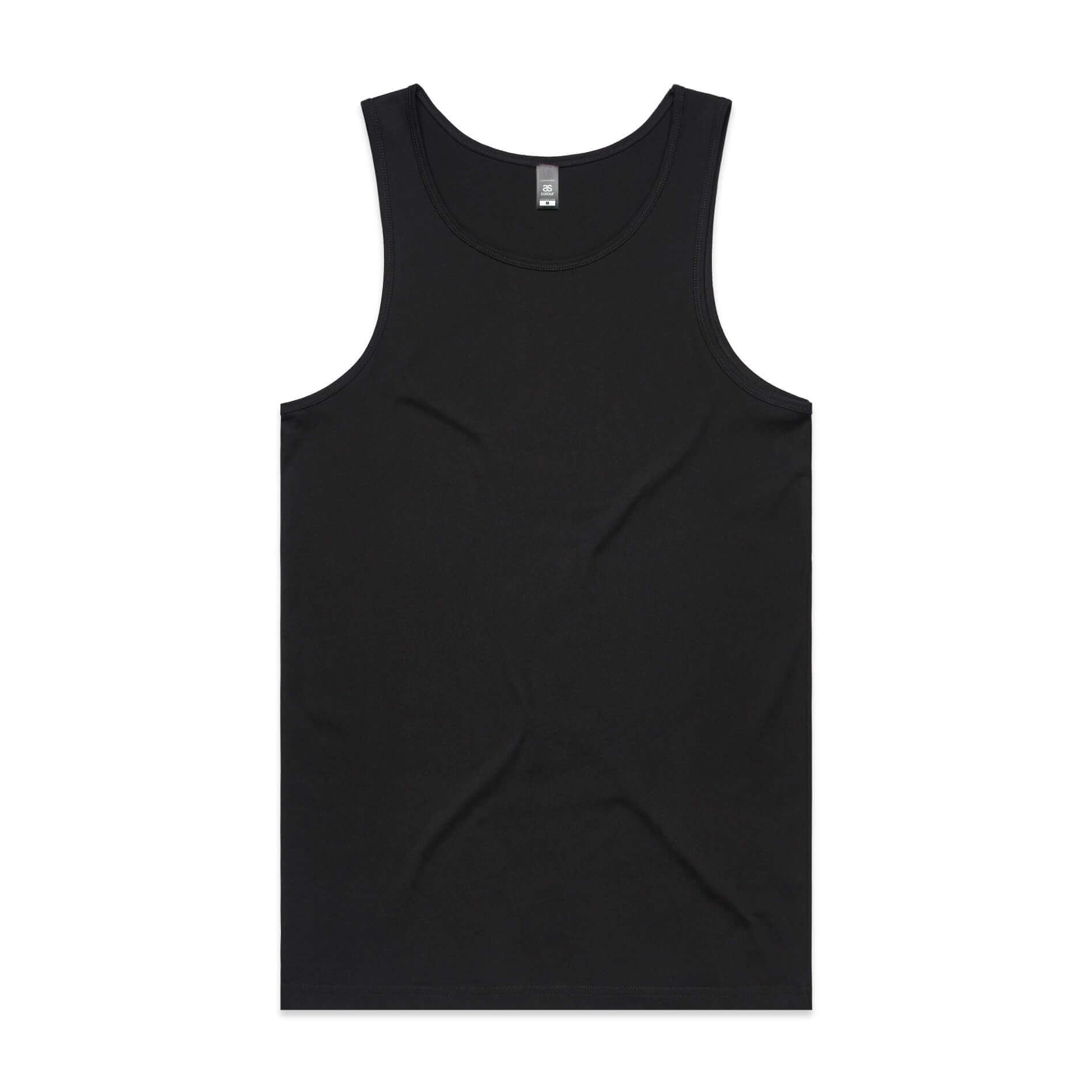 AS Colour LOWDOWN SINGLET - Black