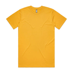 AS Colour CLASSIC TEE - Yellow
