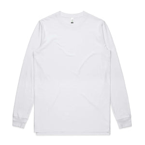 AS Colour BASE ORGANIC L/S TEE - White
