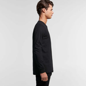 AS Colour BASE ORGANIC L/S TEE - Black