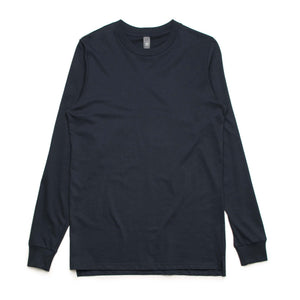 AS Colour BASE L/S TEE - Navy