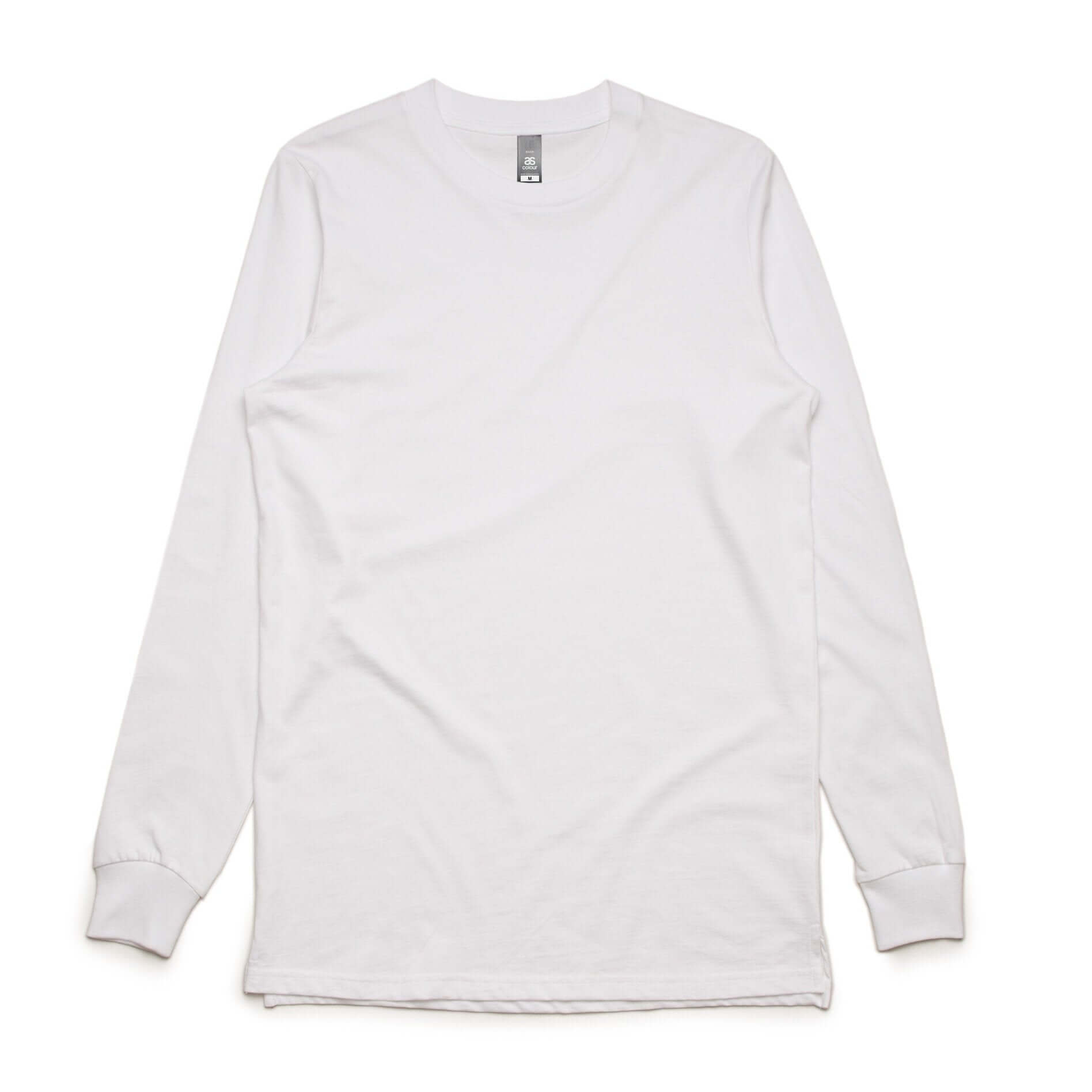 AS Colour BASE L/S TEE - White