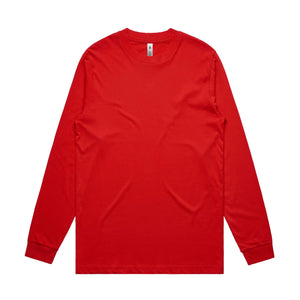 AS Colour GENERAL L/S TEE - Red