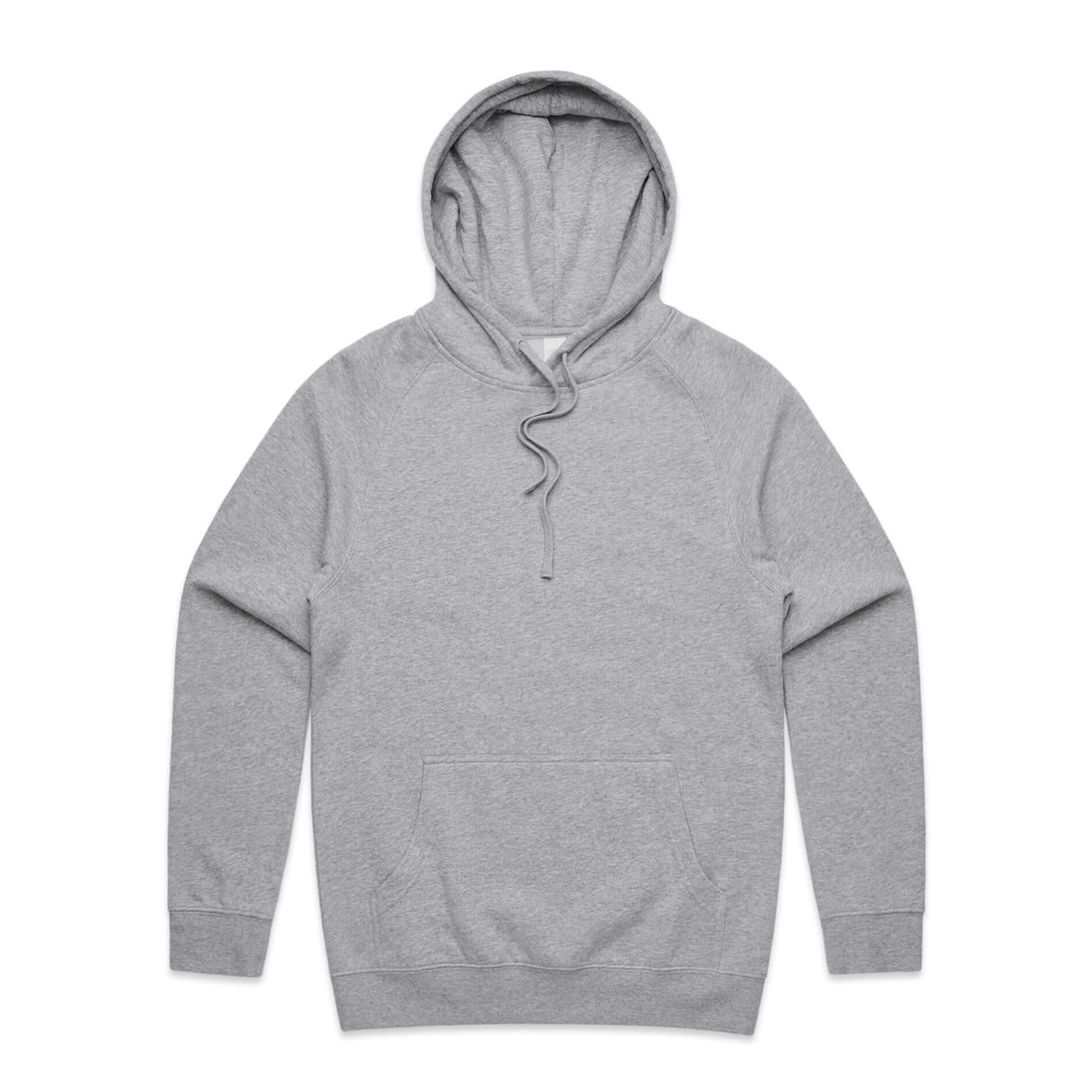 AS Colour MENS OVERSIZED SUPPLY HOODIE - Grey Marle