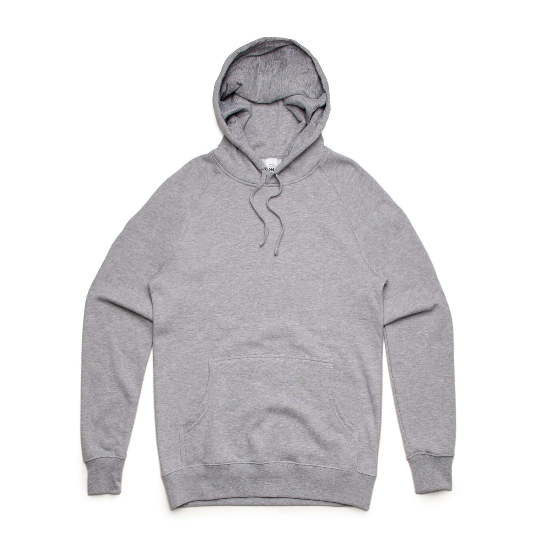 AS Colour CHALK HOOD - Grey Marle