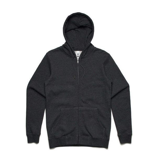 AS Colour INDEX ZIP HOOD - Black, Navy, Grey Marle and Charcoal Marle