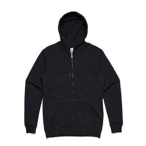 AS Colour INDEX ZIP HOOD - Black