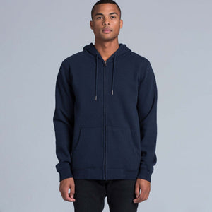 AS Colour INDEX ZIP HOOD - Navy
