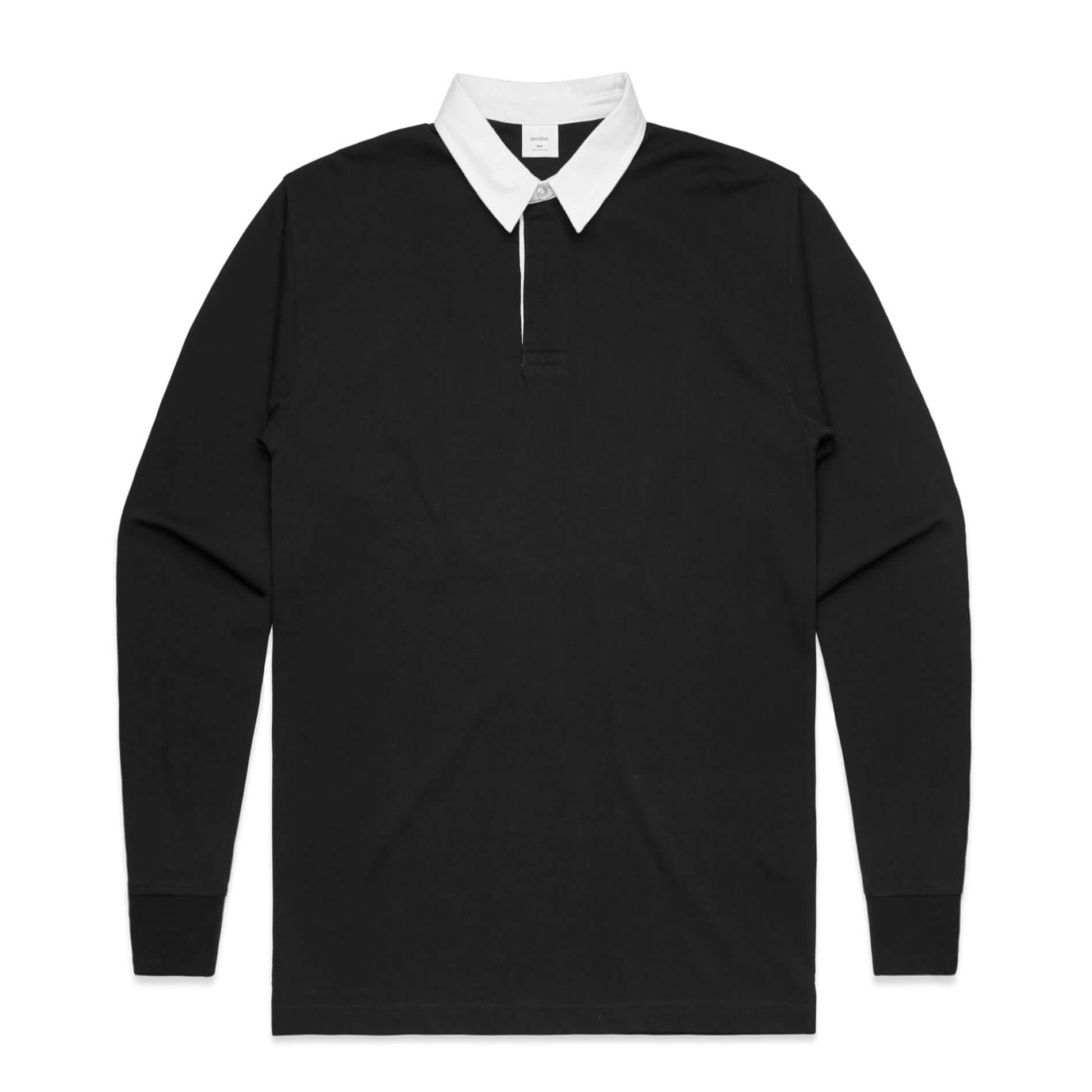 AS Colour RUGBY JERSEY - Black
