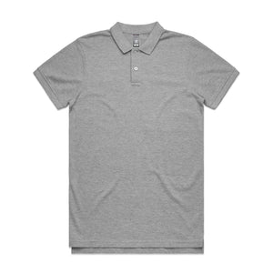 AS Colour PIQUE POLO - Grey Marle