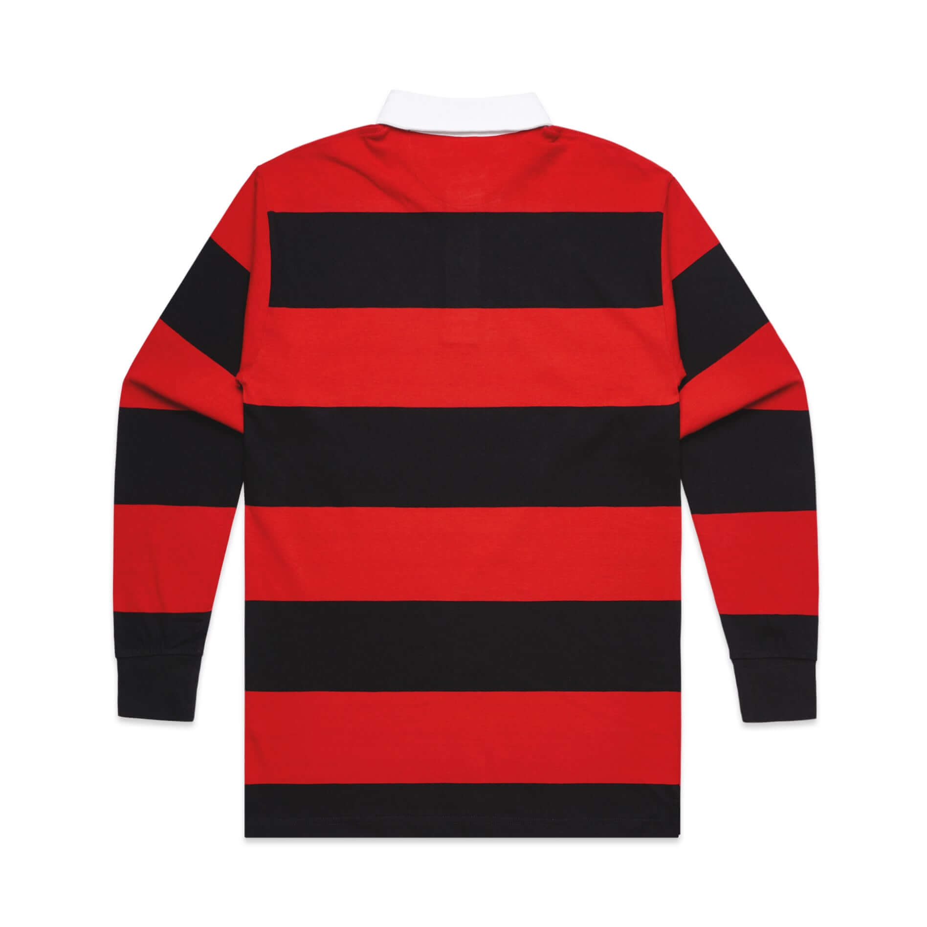 AS Colour RUGBY JERSEY - Black/Red