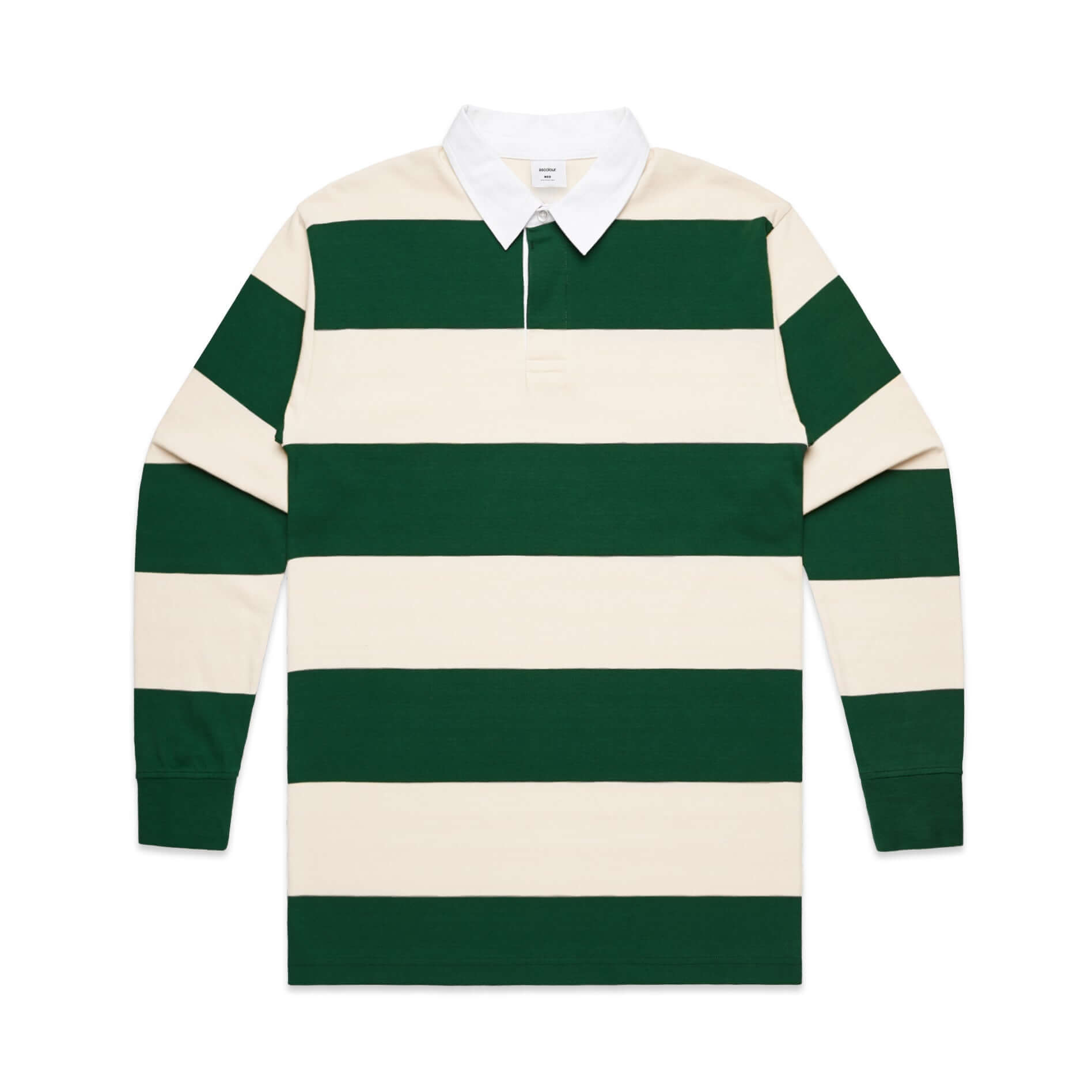 AS Colour RUGBY JERSEY - Green/White