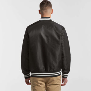 AS Colour COLLEGE BOMBER JACKET - Black