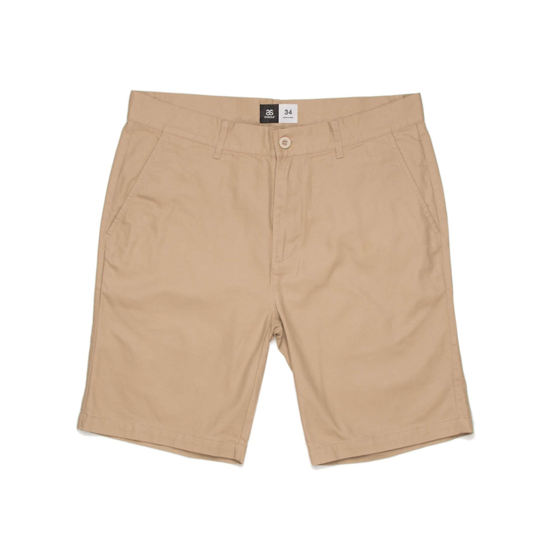 AS Colour PLAIN SHORT - Khaki