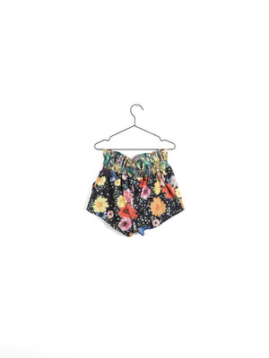 Wolf and Rita Adolfo Flowers Woven Short