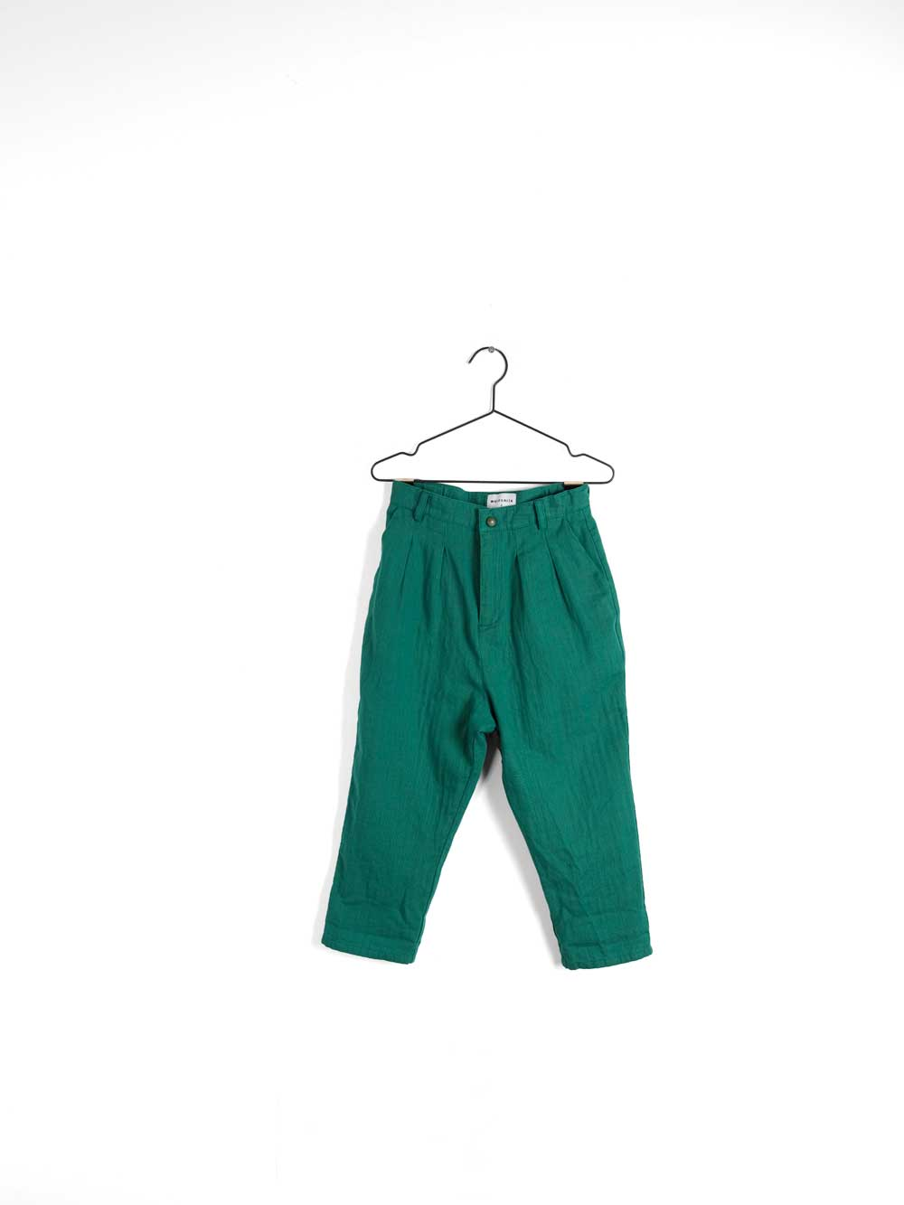 Wolf and Rita André  Woven Trousers Green