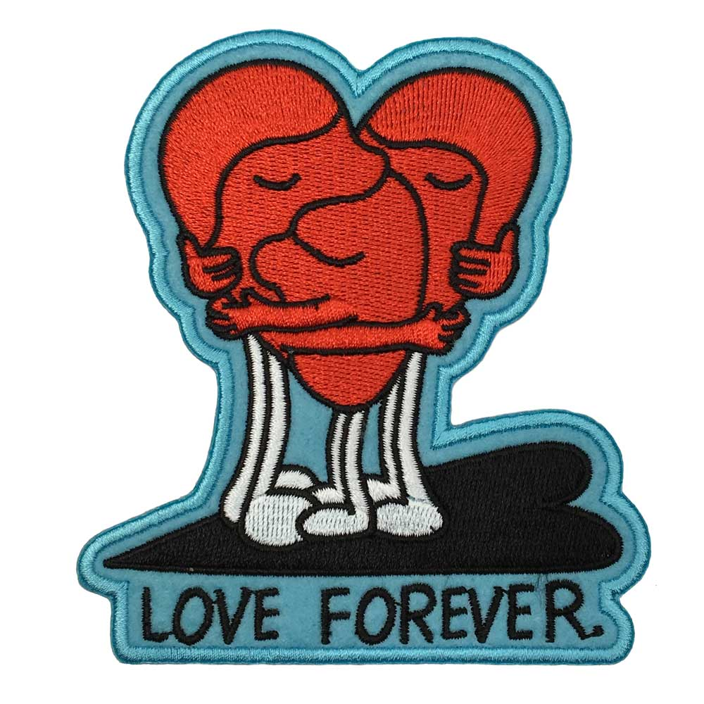 Jeremyville Love Forever Woven Patch
