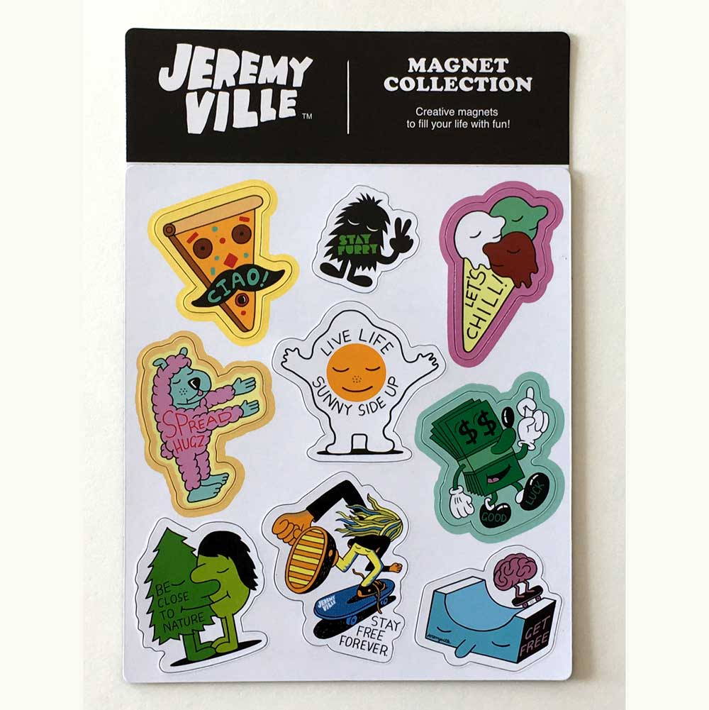Jeremyville Community Service Announcement Magnet Sheet