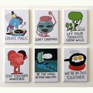 Jeremyville Community Service Announcements Magnet Set A