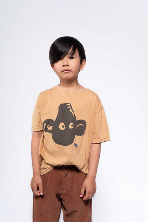 Repose Ams Tee Shirt Print Warm Tan