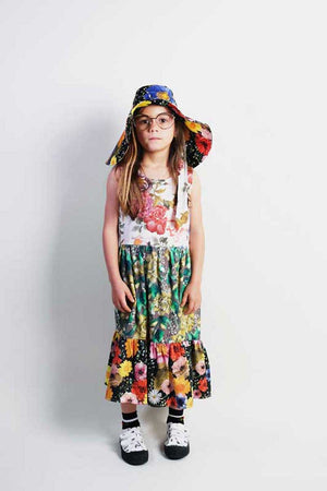 Wolf and Rita Placida Flowers Woven Dress
