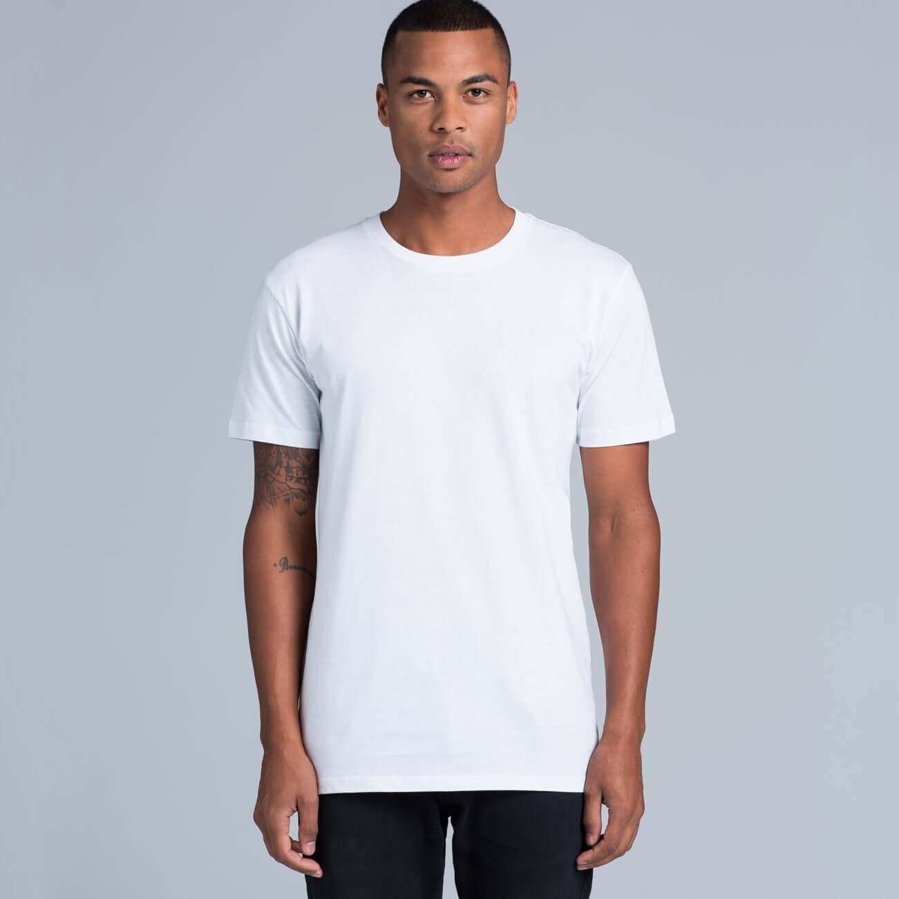 AS Colour STAPLE TEE - White