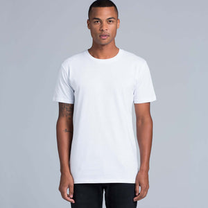 AS Colour STAPLE TEE - Grey Marle